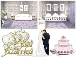 wedding cake in the sims 4 tugmel s s4 wedding place 02