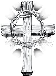 cross with crown of thorns wildside