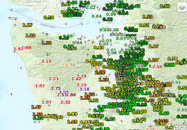 Sequim Washington Map by Cliff Mass Weather And Climate Blog Heavy Rain And Super Rain Shadow