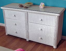 Used Wicker Bedroom Furniture by Wicker 6 Drawer Dresser Elana Wicker Paradise