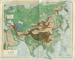 East Asia Physical Map by File A Physical Map Of Asia From Cassel U0027s Encyclopedia 1899 Jpg