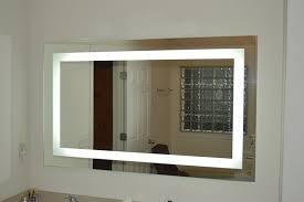 wall lights design modern style lighted vanity wall mirror sensational lighted vanity wall mirror design interior including frameless beveled all shapes aptiation