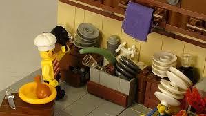lego kitchen lego kitchen custom minifig and vignette custom lego minifigures