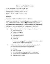 science fair report template dissertation conclusion help writing a compare and contrast essay