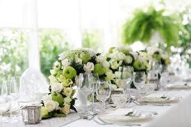 dining room weddings centerpiece ideas with jasmine flower