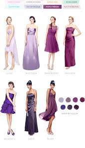 color palettes bridesmaid dresses by color palette david u0027s bridal
