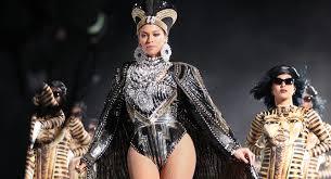 beyonce coachella beyonce s coachella balmain costumes are concert fashion