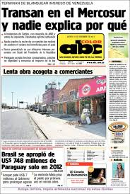 newspaper abc color paraguay newspapers paraguay thursday u0027s