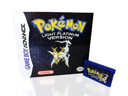Pokemon Light Platinum Ds Rom Pokemon Light Platinum Version For Gameboy Advance Available