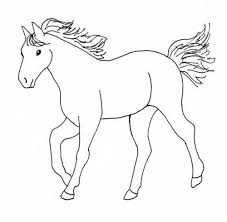 kidscolouringpages orgfun horse coloring pages for your kids printable