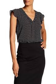 womens black blouse tops for nordstrom rack