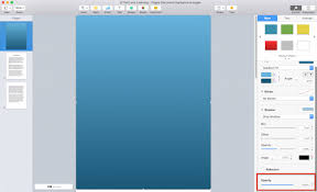 color of 2016 how to change the background color of an apple pages document