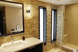 admiring bathroom design is demonstrated by terrific big tiles