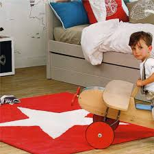 rugs red star rug lorena canals petit home