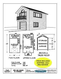 Carriage House Plans Detached Garage Plans by 2 Story Single Garage Plan Dream Houses Pinterest Garage