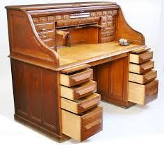 Oak Roll Top Secretary Desk by Late 19c Oak Roll Top Desk By Cutler Of Buffalo Ny Antiques Atlas
