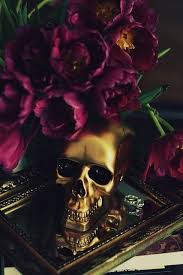 Skull Decorations For The Home Gorgeous Idea For Halloween Centerpiece Just Cut The Top Off Of A