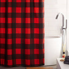 Check Shower Curtain Checked Shower Curtains Ebay