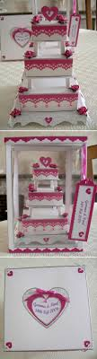 wedding cake lewis 3 tier wedding cake by wendy lewis using a card template