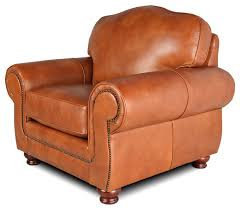 Camelback Leather Sofa by Windsor Hill Country Collection Leather Creations Furniture