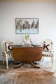 best ideas about drop leaf table pinterest kathleen barnes orange county home tour theeverygirl white chairs with taupe and octagon tabledrop leaf