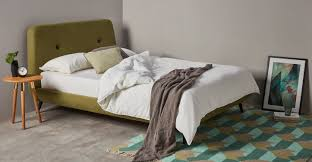 edwin king size bed olive green made com