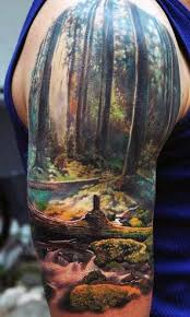 Mens Half Sleeves - 60 half sleeve tattoos for manly designs and masterpieces
