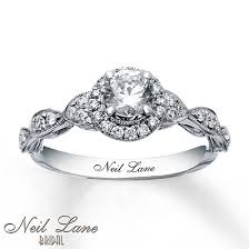 Kay Jewelers Wedding Rings For Her by Neil Lane Engagement Ring 3 4 Ct Tw Diamonds 14k White Gold