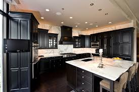 dark kitchen cabinets with dark wood floors pictures picture of dark kitchen cabinet with white countertop lovely