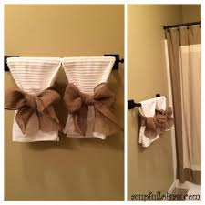 Towel Rack Ideas For Bathroom Colors 25 Best Decorative Towels Ideas On Pinterest Decorative