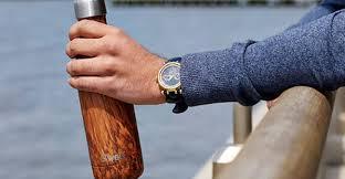 17 ounce teakwood bottle by s u0027well gadget flow