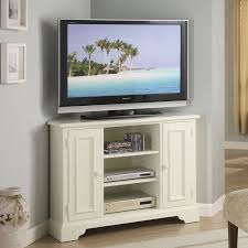 white corner television cabinet tv stands special product tall corner tv stands for flat screens