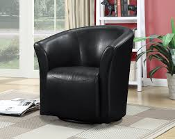 Black Swivel Chair Relaxing Quality Time With A Swivel Barrel Chair Med Art Home