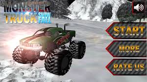 games of monster truck racing monster truck snowfall driving u2013 hawksgames