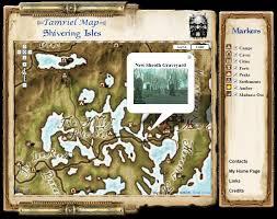 Online Map Maker Elder Scrolls Tamriel Maps With Skyrim And Dragonborn