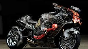 аэрография: ходожественная роспись мотоциклов и шлемов