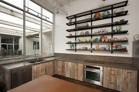 loft kitchen atlanta concrete countertops st paul