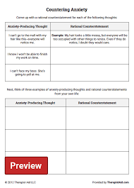 anxiety worksheet free worksheets library download and print