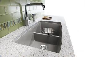 Soapstone Cleaning Granite Countertop Painted Cabinet 4 Hole Faucets Clean Sink
