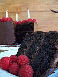 chocolate raspberry ganache cake u2013 17 baking turns 17 17