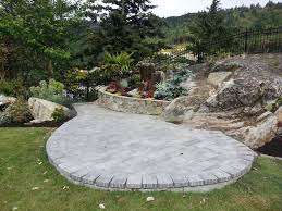 Patio Paver by Installing A Paver Patio Victoria B C Garden City