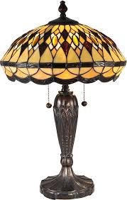 Dale Tiffany Buffet Lamps by Dale Tiffany Tt15154 Ginger Diamond Tiffany Dark Bronze Side Table