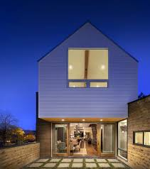 house covered in wood delivers privacy in style