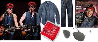 Halloween Rockstar Costume Ideas Easy Halloween Costumes Bruce Springsteen David Bowie Run Dmc