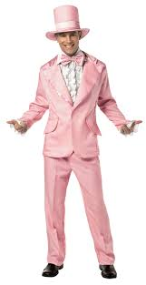 Tuxedo Halloween Costumes 70s Funky Tuxedo Pastel Pink Mens Costume Cool Tux Theme