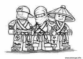 coloriage ninjago à imprimer