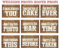 diy wedding photo booth wedding photo booth props 18 printable signs for a diy