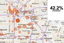 Us Zip Code Map by Historic South Central Has The Most Crowded Housing In The Us