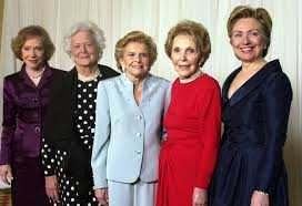 where do clintons live nancy reagan u0027s surprising feminist gift to hillary clinton time