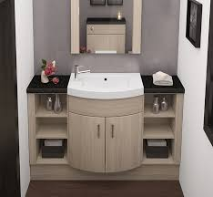 fitted bathroom ideas fitted bathroom furniture swiss elm curved slab home